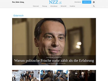 Startseite NZZ