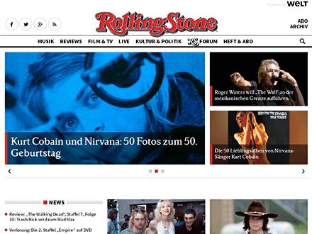 Startseite Rolling Stones