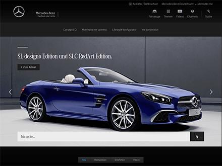 Startseite Mercedes