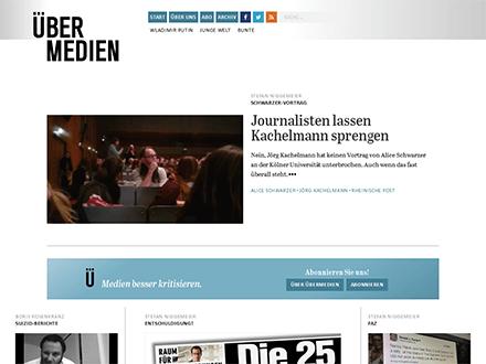 Startseite Übermedien